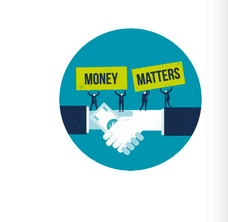 """Money matters handshake"" foto"