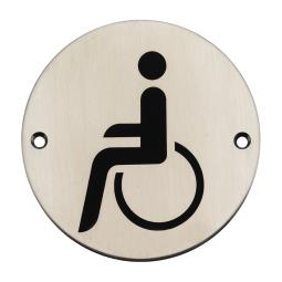 Internationale symbool voor toegang.